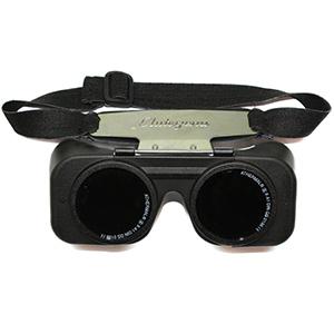 Svejse-Madsen Autogena svejsebrille DIN 6 med elastik